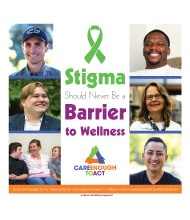 Stigma Should Never be a Barrier to Wellness