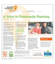 A Voice in Community Planning