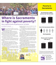 Where is Sacramento in fight against poverty?