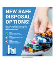 New Safe Disposal Options! (North Central Valley)