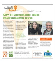 City of Sacramento takes environmental focus