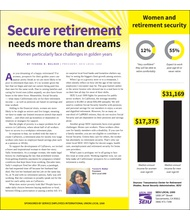 Secure retirement needs more than dreams