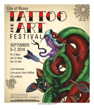 2014 City of Roses Tattoo and Art Festival