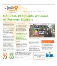 CalFresh Recipients Welcome at Farmers Markets