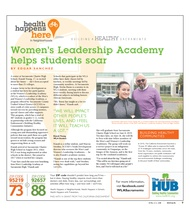Women's Leadership Academy helps students soar